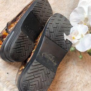 Dansko Shoes - Dansko Tiger's Eye Leather Professional Clog